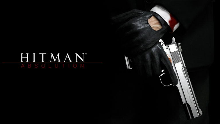 Hitman Absolution Logo HD wallpaper