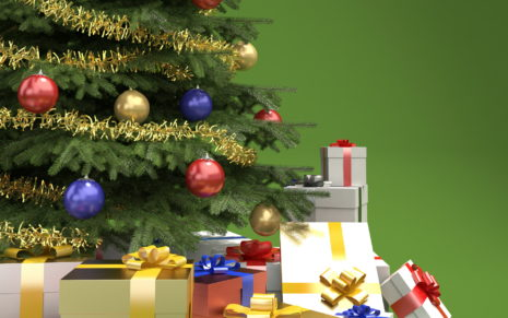 Shutterstock Christmas Tree HD wallpaper