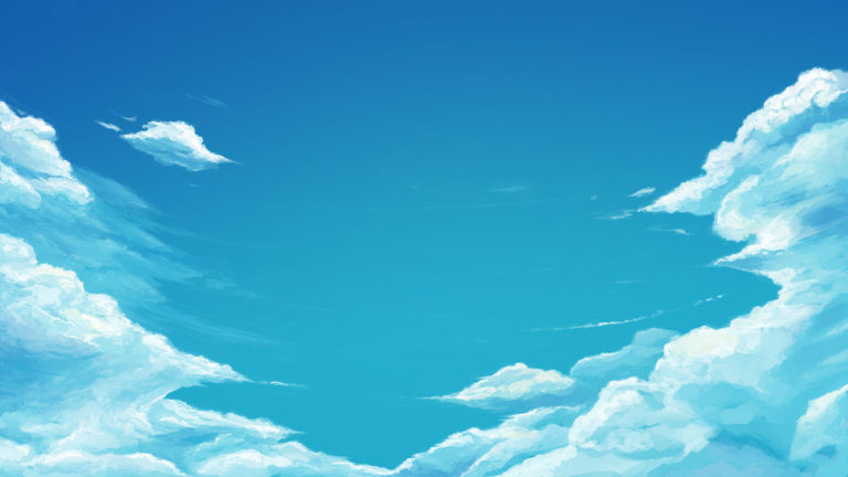 Animated Blue sky HD wallpaper