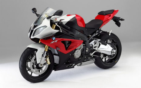BMW 1000 RR Red & Black HD wallpaper