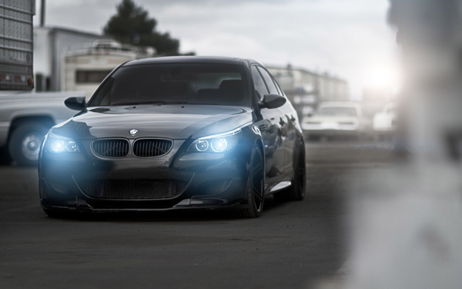 BMW M5 E60 HD wallpaper