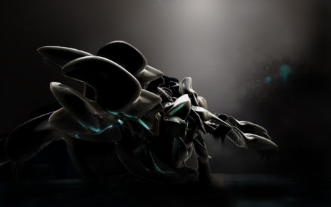 Black robotic toys HD wallpaper