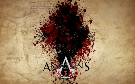 Blood Assassins Creed HD wallpaper