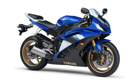 Blue Yamaha R6 HD wallpaper