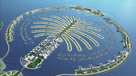 Dubai Islands HD wallpaper