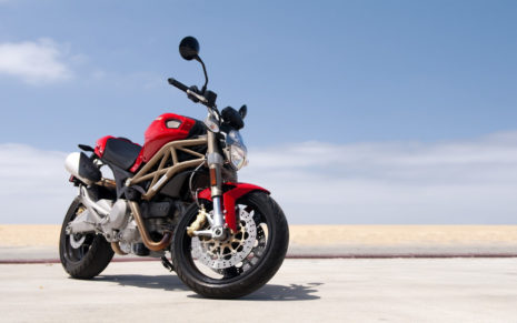 Ducati big red bike HD wallpaper