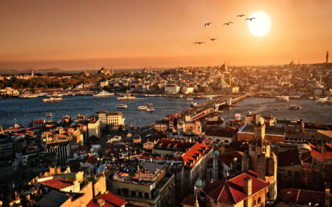 Great Istanbul HD wallpaper