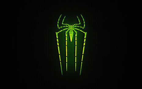 Green Spider-Man HD wallpaper