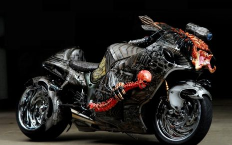 Haunted bike HD wallpaper