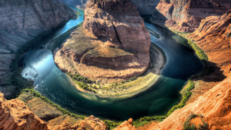 Horseshoe Bend HD wallpaper