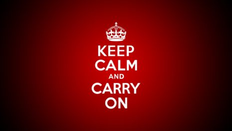 Keep Calm And Carry On HD wallpaper
