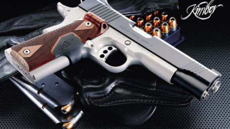 Kimber 1911 pistol HD wallpaper