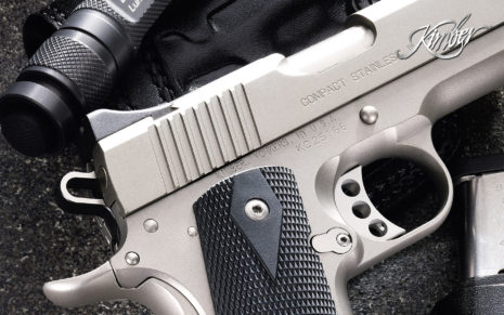 Kimber Compact Stainless Ii HD wallpaper
