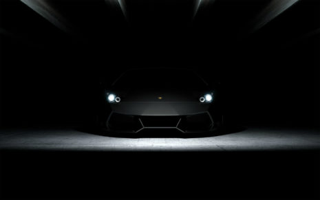 Lamborghini Aventador in light HD wallpaper