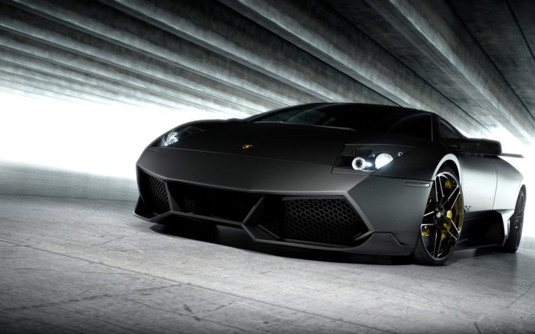 Lamborghini Gray HD wallpaper