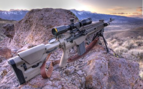 M1A rifle HD wallpaper