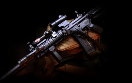 M4 carbine rifle HD wallpaper
