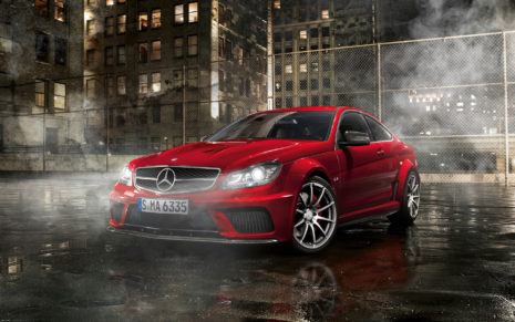Mercedes-Benz C63 HD wallpaper