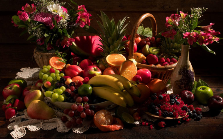 Nice fruit collection HD wallpaper