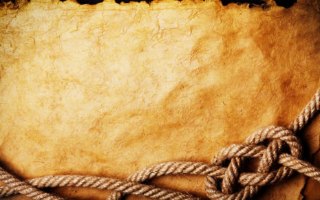 Rope on old paper HD wallpaper