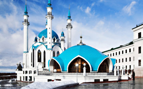 Russia Mosque HD wallpaper 1