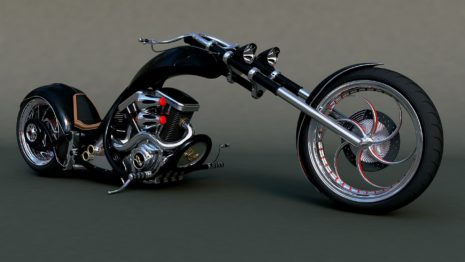 Slim Chopper Bikes HD wallpaper