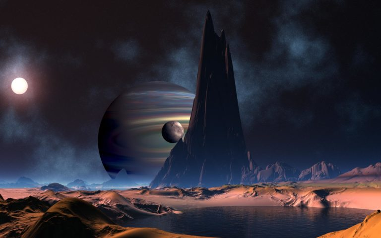 Space background HD wallpaper
