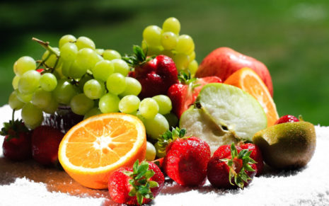 Variety of nutritious fruits HD wallpaper