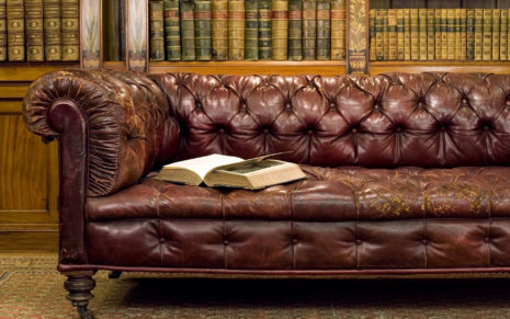 Antique Library HD wallpaper