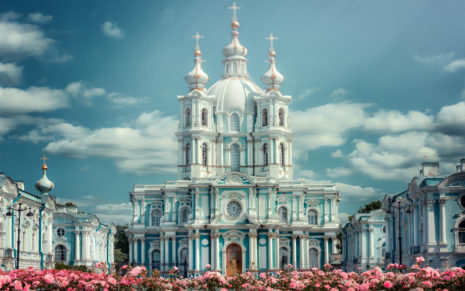 Architecture of St Petersburg HD wallpaper