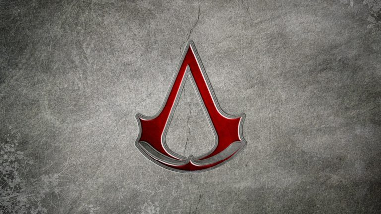 Assassins Creed Red Symbol HD wallpaper