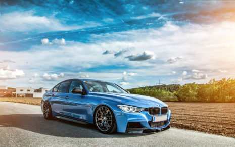 BMW F30 HD wallpaper