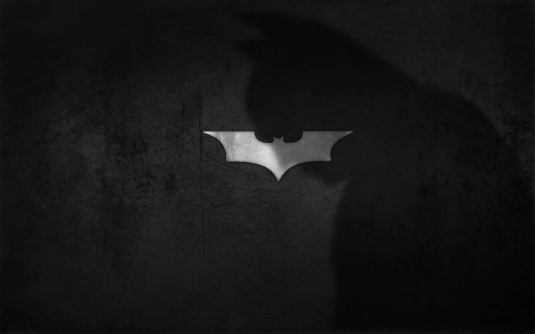 Batman shadow logo HD wallpaper