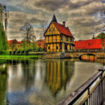 Beautiful German architecture HD wallpaper