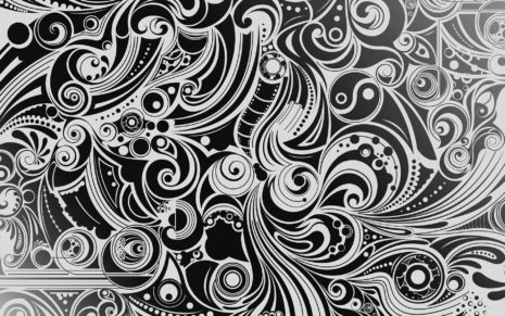 Best Black & White patterns HD wallpaper