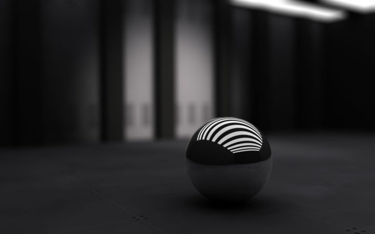 Black & White band ball HD wallpaper