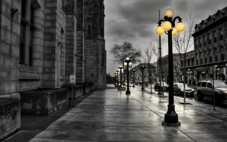 City streets at evening HD wallpaper.jpg 1