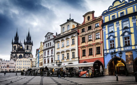 Czech republic Prague street HD wallpaper