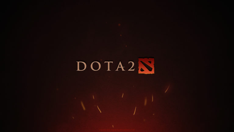 Dota Game Logo HD wallpaper