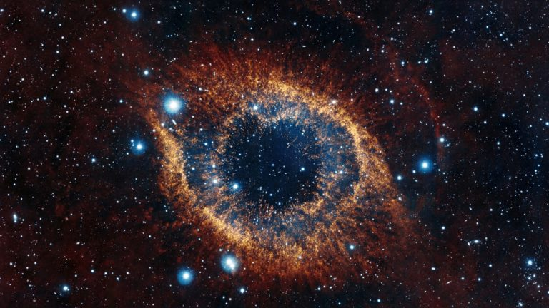 Helix Nebula HD wallpaper