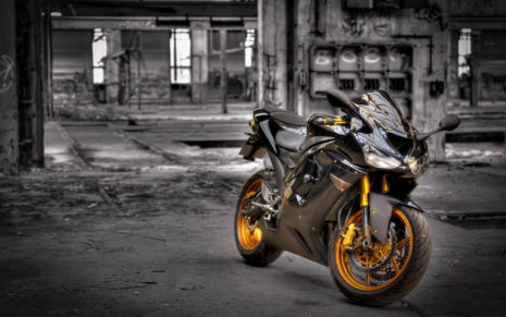 Kawasaki ZX6R HD wallpaper