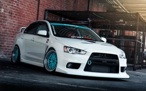 Mitsubishi Lancer Evo X HD wallpaper