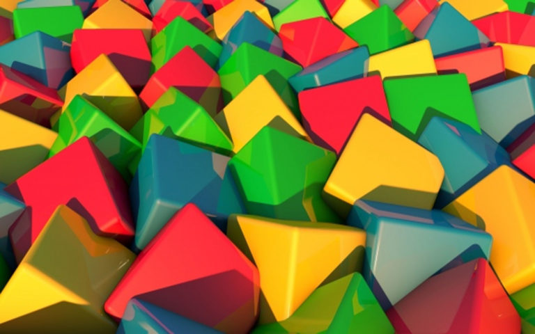 Multi color gift blocks HD wallpaper