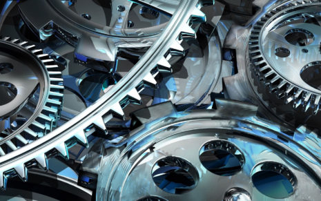 Photography of gear mechanism HD wallpaper