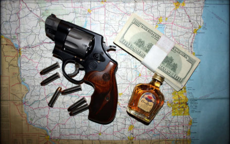 Revolver and Cognac HD wallpaper
