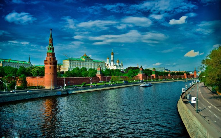Russian Red Square HD wallpaper 1