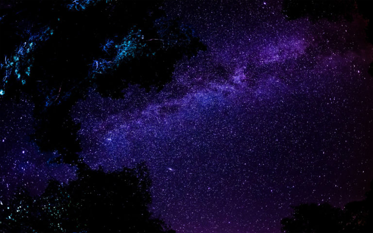 Splendid night space HD wallpaper