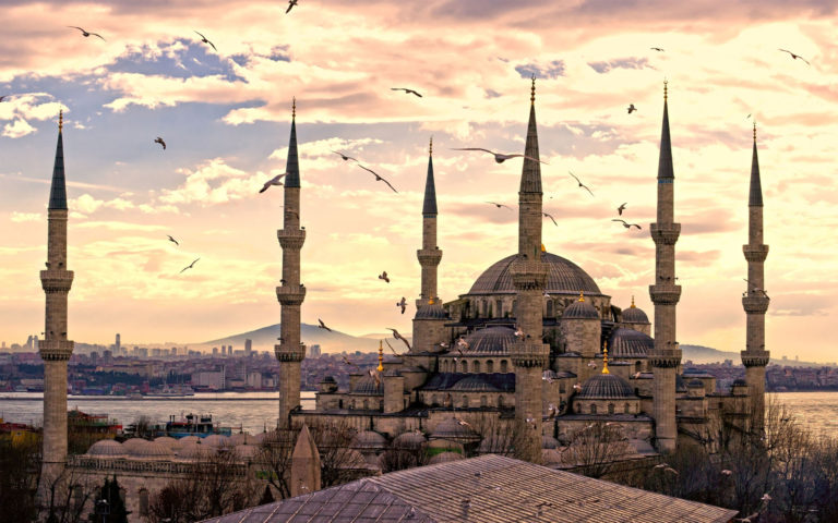 Sultanahmet mosque HD wallpaper