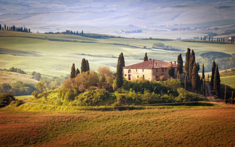Summer of Tuscany Italy HD wallpaper