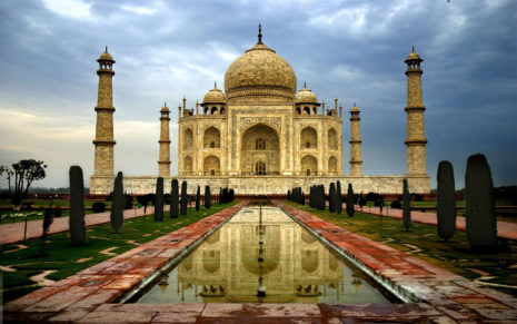 Taj Mahal marble dome HD wallpaper